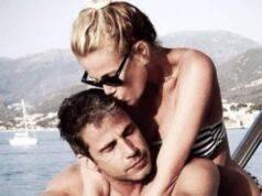 Alessia Marcuzzi in vacanza con il marito Paolo Calabresi Ma