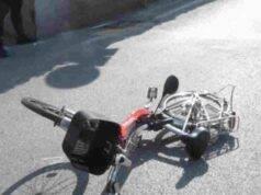 bici elettrica incidente