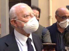 """Covid 19 in Campania, De Luca: """"Quarantena obbligatoria per chi rientra dall'estero"""""""