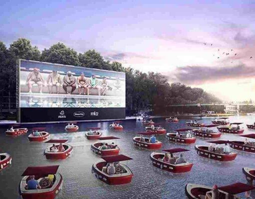il cinema galleggiante di Parigi