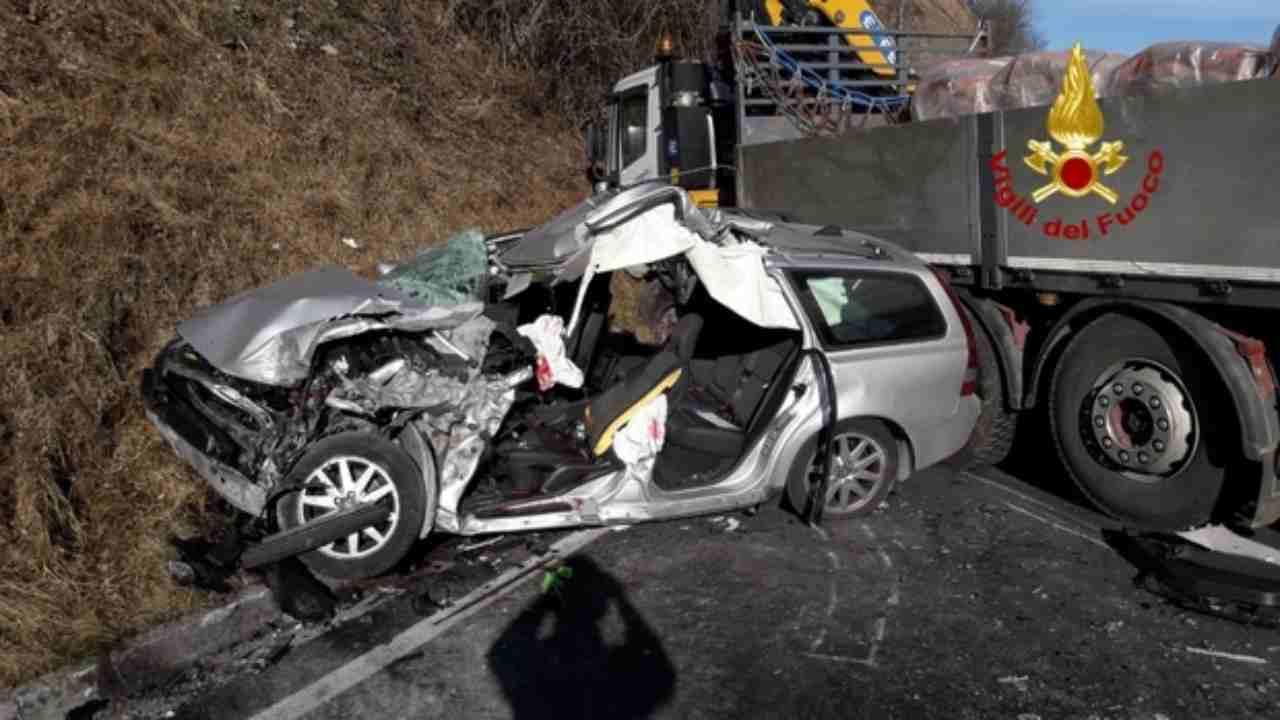 incidente stradale Monza