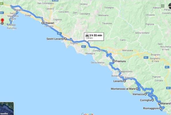 liguria on the road