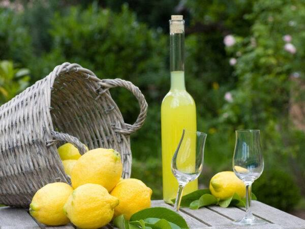 il limoncello di Sorrento