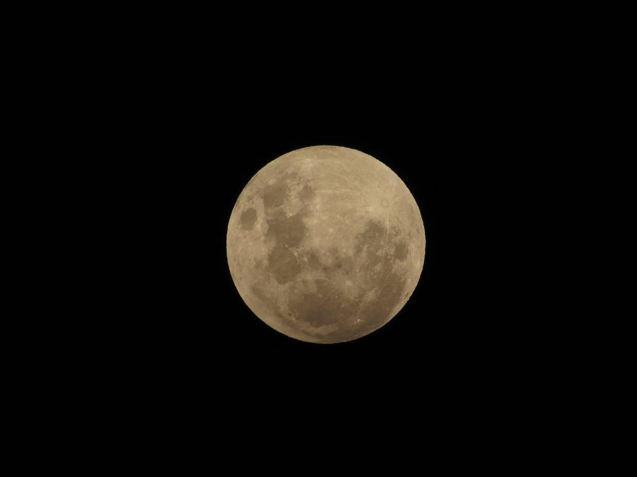 luna piena cervo eclissi