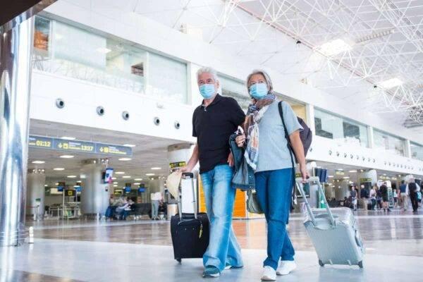 coronavirus aeroporto