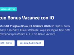 Bonus Vacanze ISEE