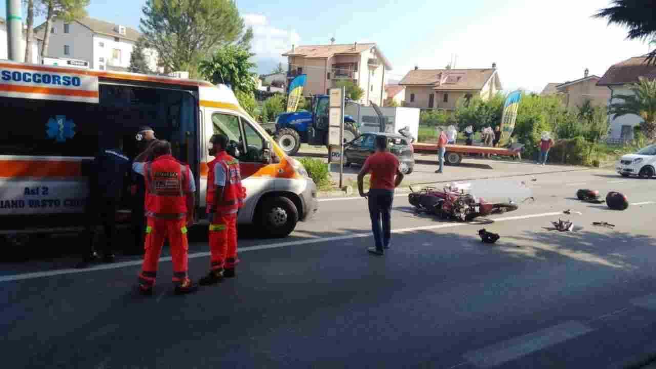 incidente L'Aquila