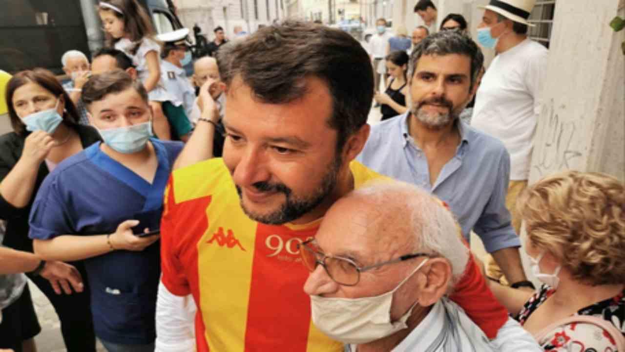 multa Salvini mascherina Benevento