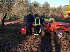 incidente trattore Benevento