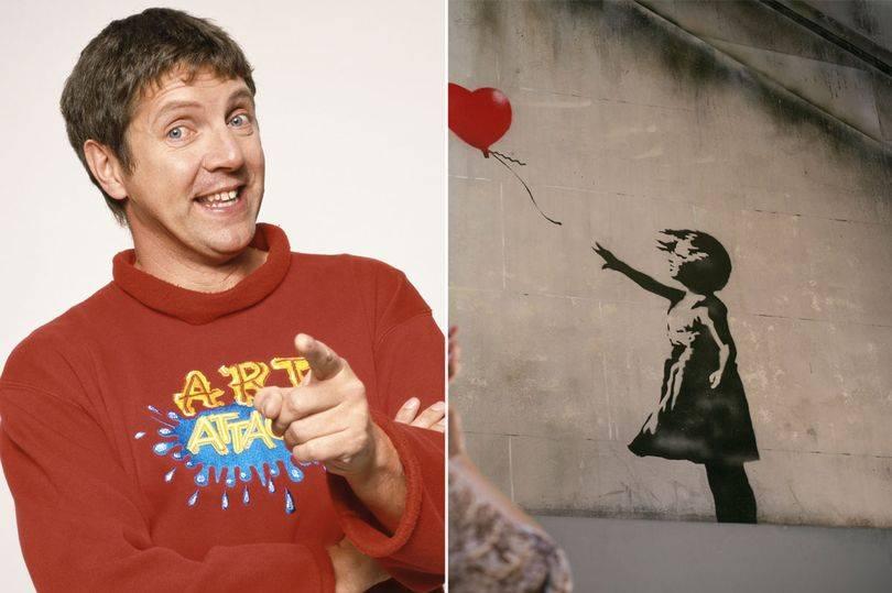 Banksy è Neil Buchanan di Art Attack? Il conduttore smentisce