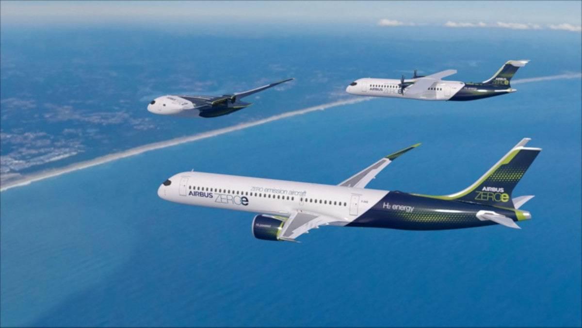 airbus aereo emissioni zero