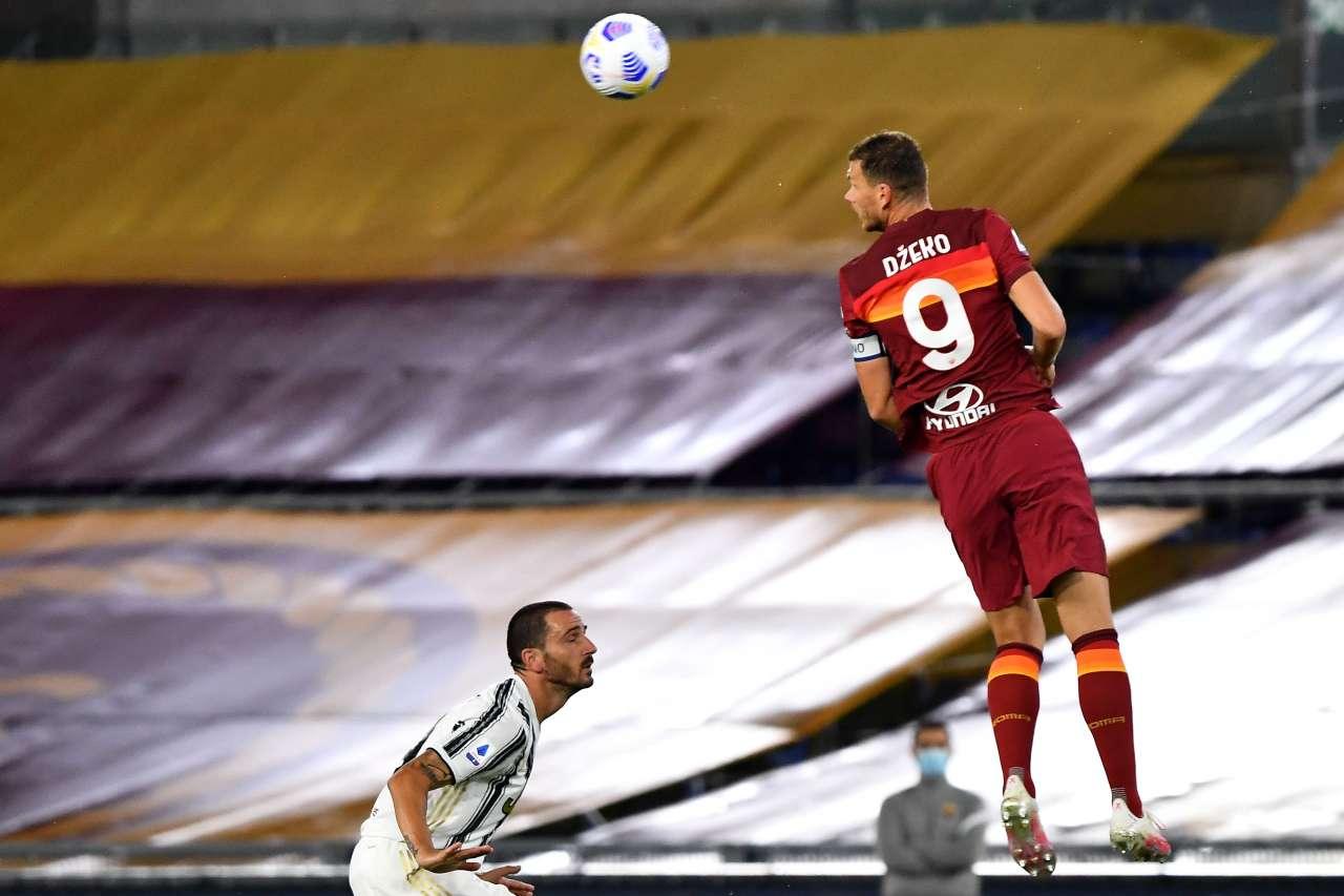Dzeko, il presunto labiale contro la Juventus: il retroscena