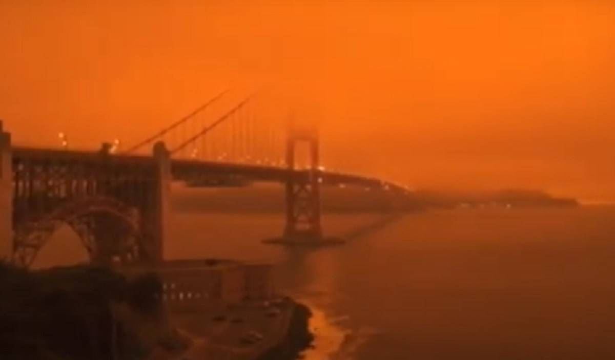 California Oregon incendi