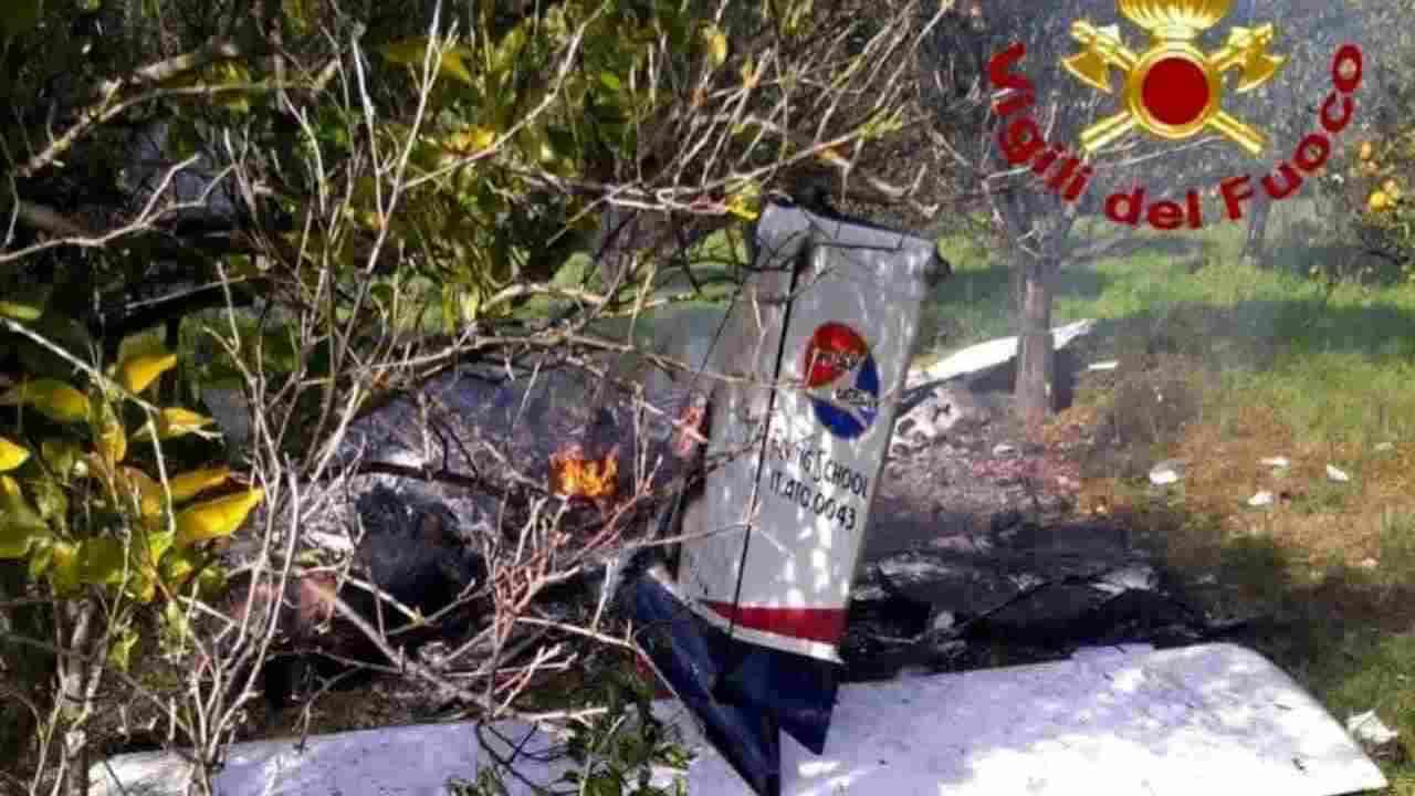 precipita aereo incidente cremona
