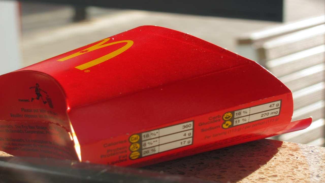 McDonald's aggressione