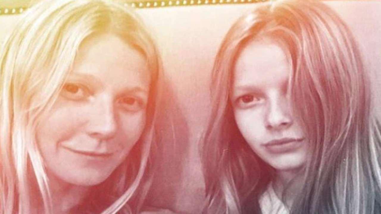 Gwyneth Paltrow | nuda per il compleanno | la figlia imbarazzata | FOTO