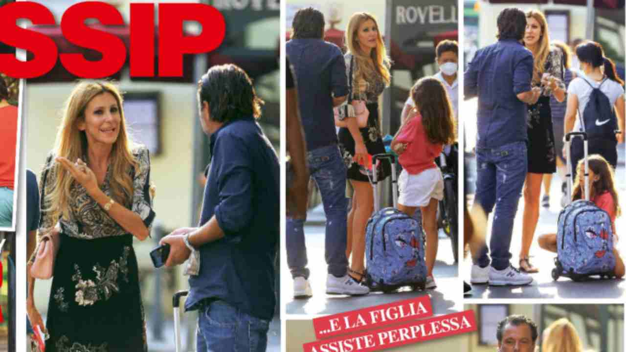 Adriana Volpe e Roberto Parli, lite furibonda in strada: li vedono tutti