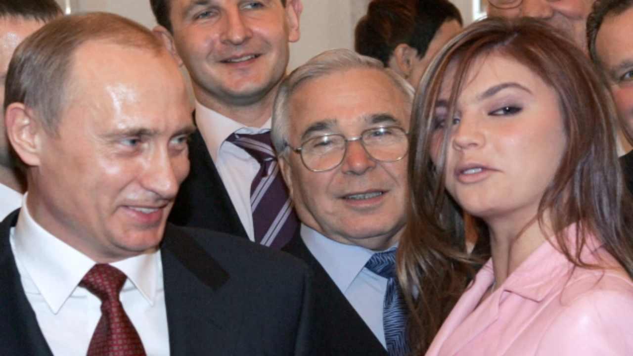 Putin amante Alina Kabaeva