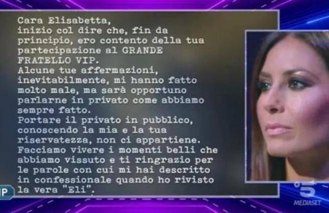 Grande Fratello Vip, Elisabetta Gregoraci lancia la bomba: