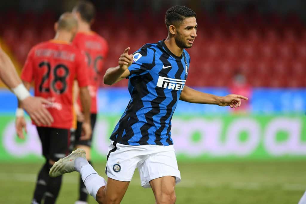 Hakimi, già due gol e due assist: in questa Serie A è l'unico difensore a esserci riuscito