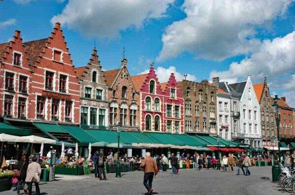 Grote Markt Bruges Belgio 7 giorni