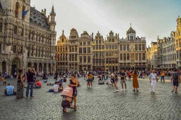 Grote Markt Bruxelles Belgio 7 giorni