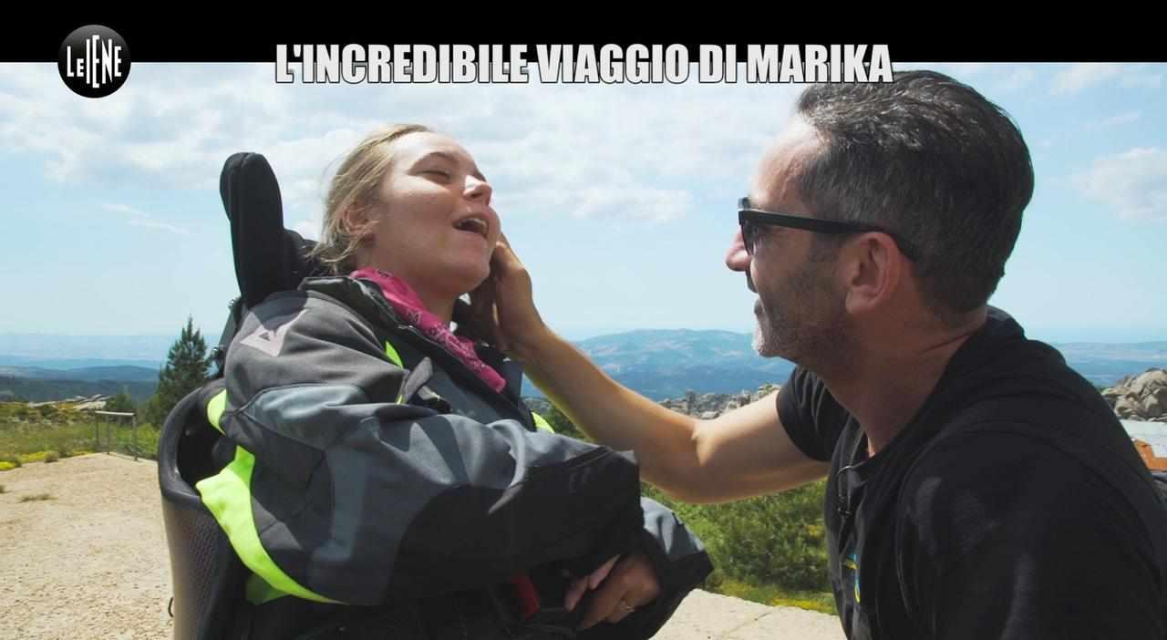 Marika, chi è la ragazza tetraplegica protagonista del viaggio con Le Iene