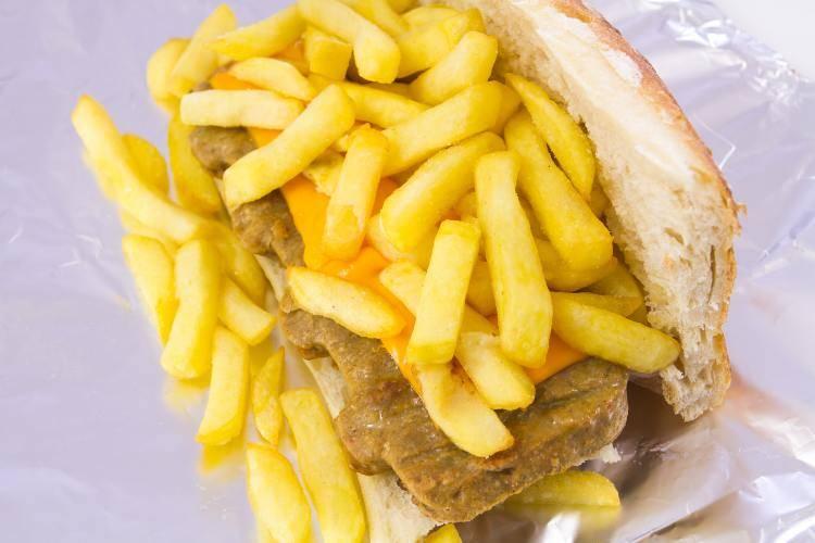 Mitraillette cosa mangiare Bruxelles