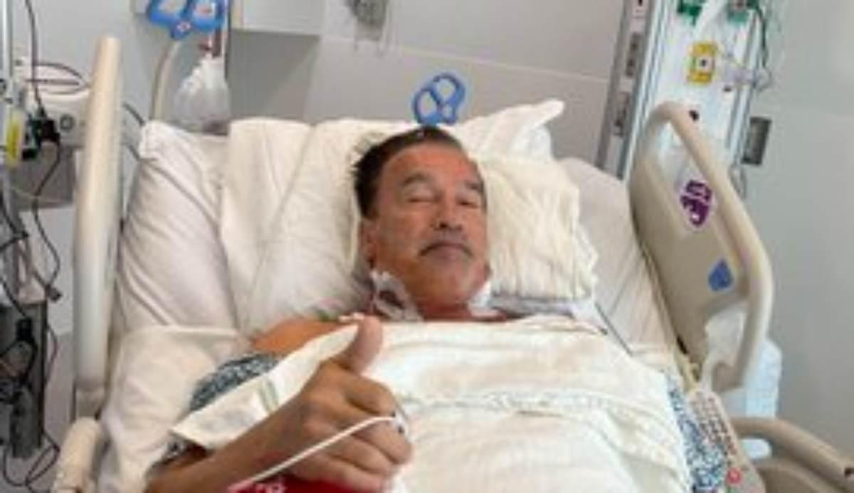 Schwarzenegger operato al cuore: come sta l'attore hollywoodiano
