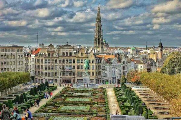 Mont des Arts, Bruxelles Belgio 7 giorni