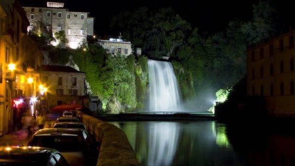 La cascata di Isola del Liri (Frosinone)