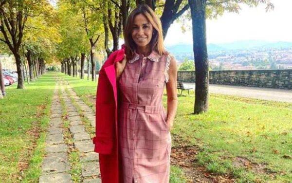 Cristina Parodi, Instagram, la dedica per Bergamo