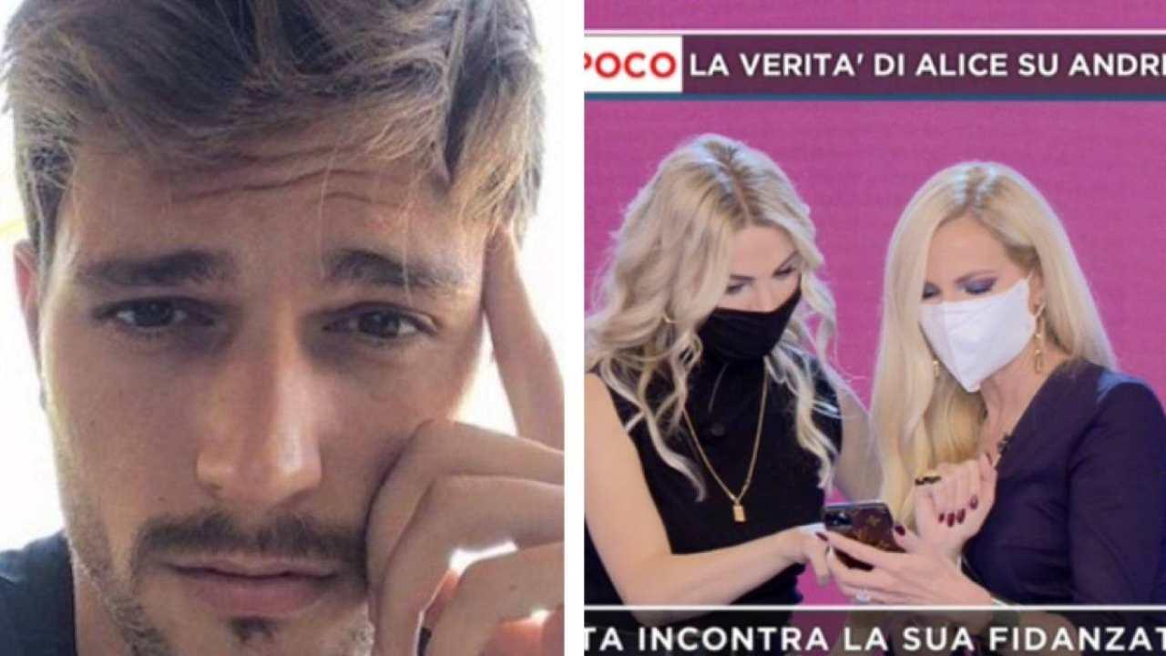 Andrea Zelletta smascherato, Alice Fabbrica mostra le foto del tradimento