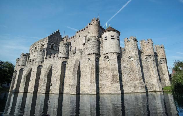 Gand castello da vedere in 7 giorni in Belgio