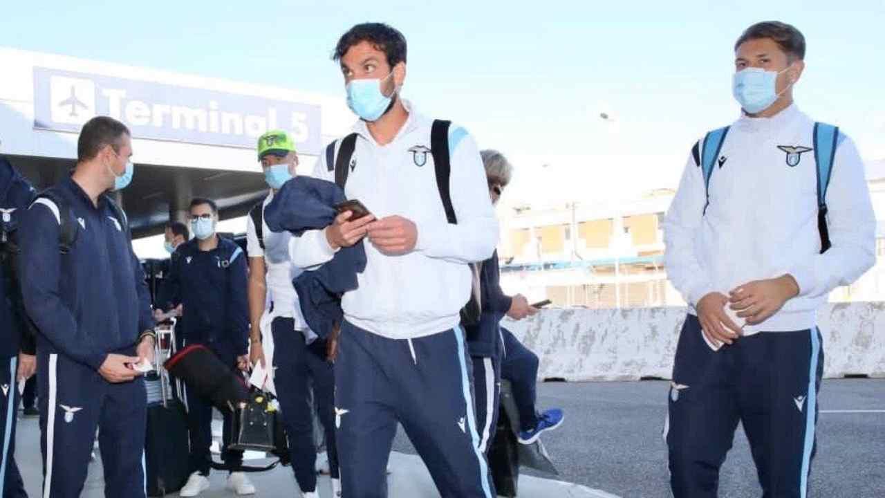 Lazio calciatori positivi
