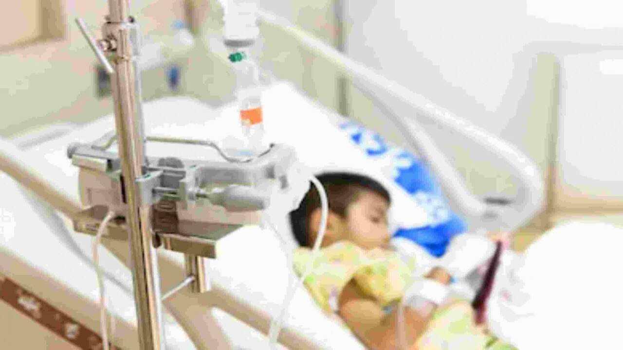 Bambino sconfigge leucemia