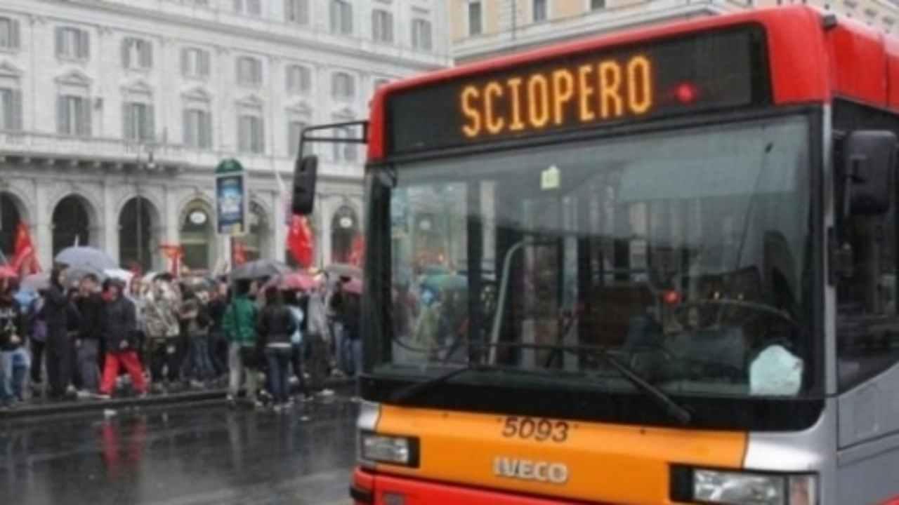 Sciopero 23 ottobre Roma