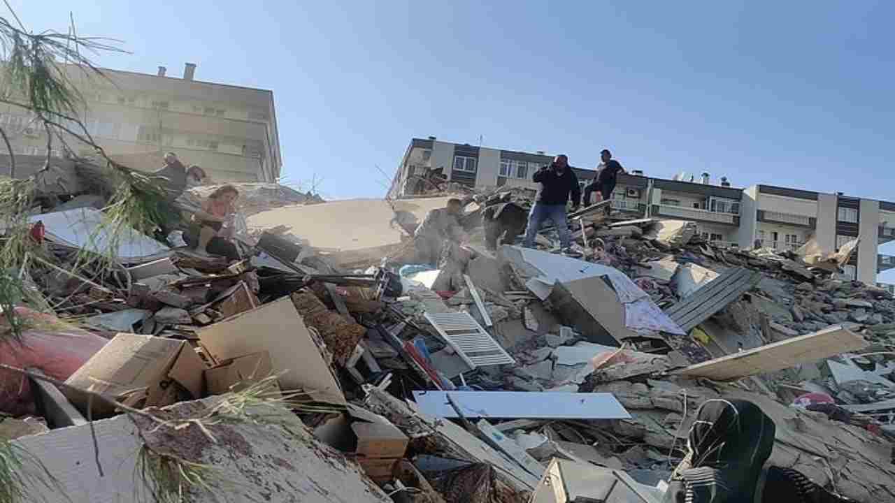 terremoto oggi Turchia
