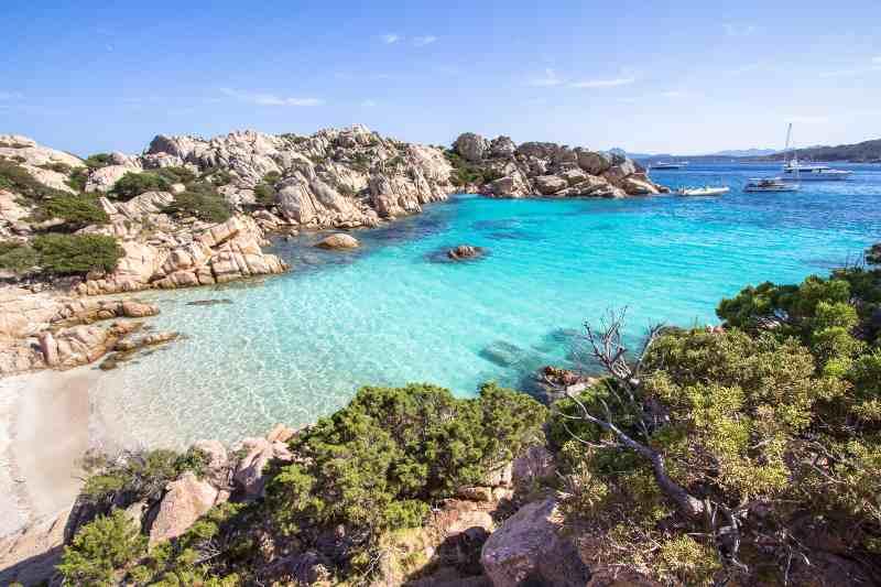 Cala Coticcio, Sardegna 10 luoghi Italia estero