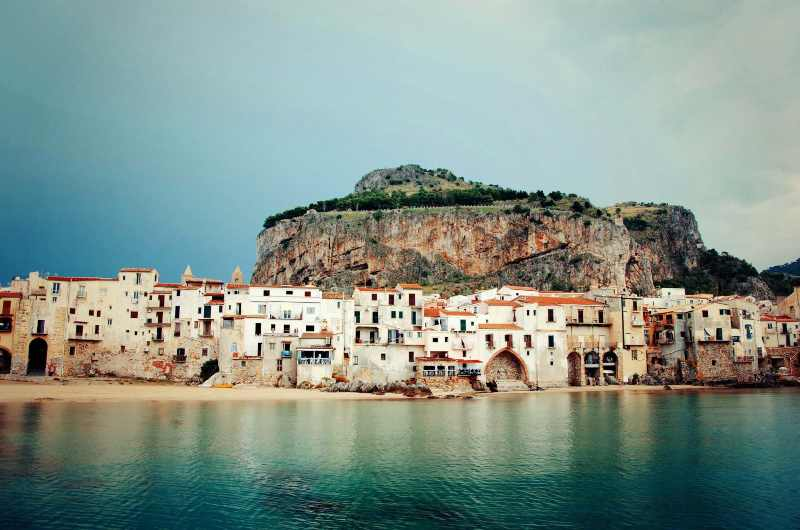 Cefalù, Sicilia borghi mare inverno