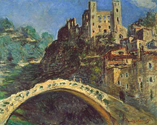 Dolceacqua, Monet Dolceacqua borgo Liguria Monet