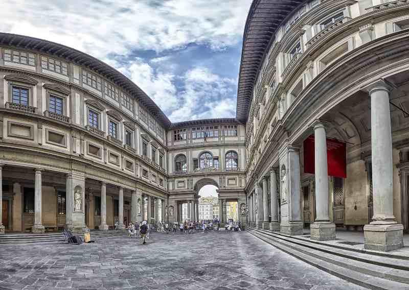 Galleria degli Uffizi, Firenze musei italiani online gratis