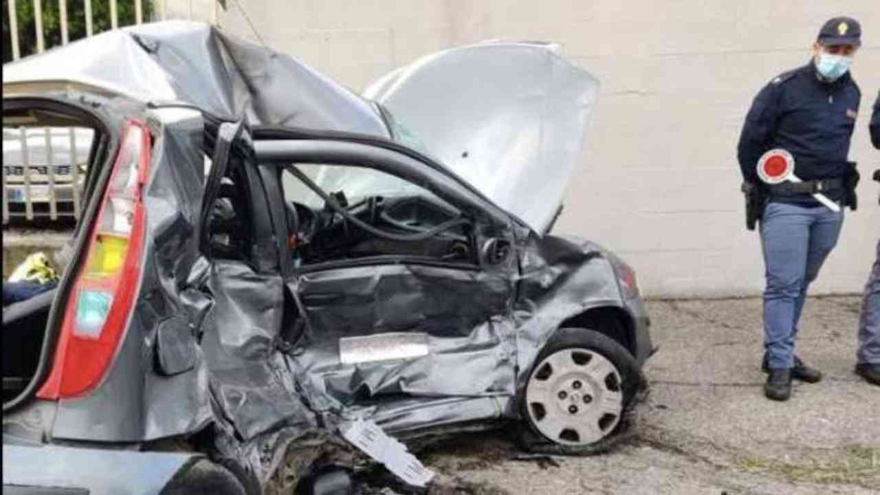Incidente stradale Calabria