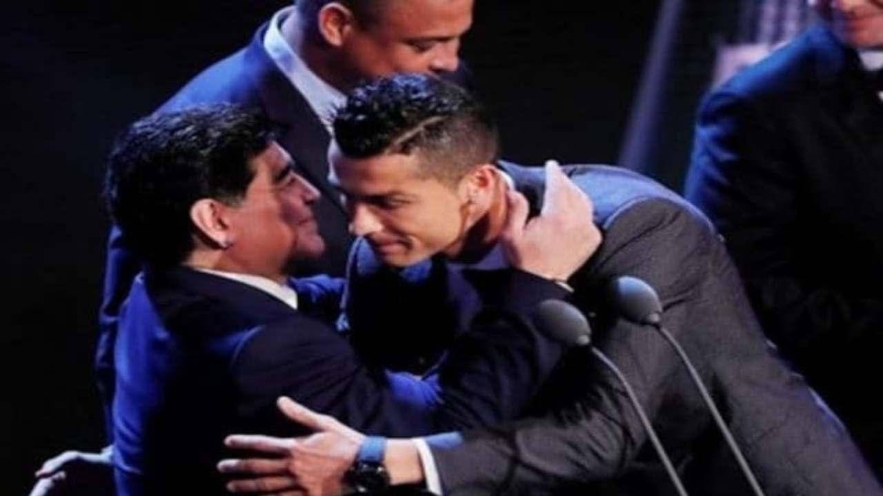 morte Maradona Cristiano Ronaldo