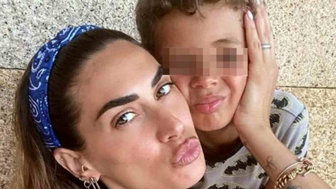 Melissa Satta figlio Maddox positivi
