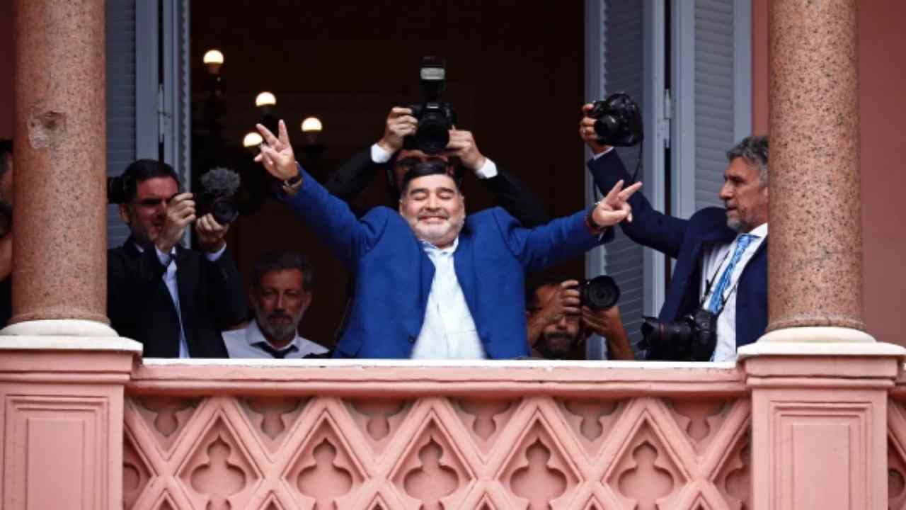 morte Maradona ultima foto