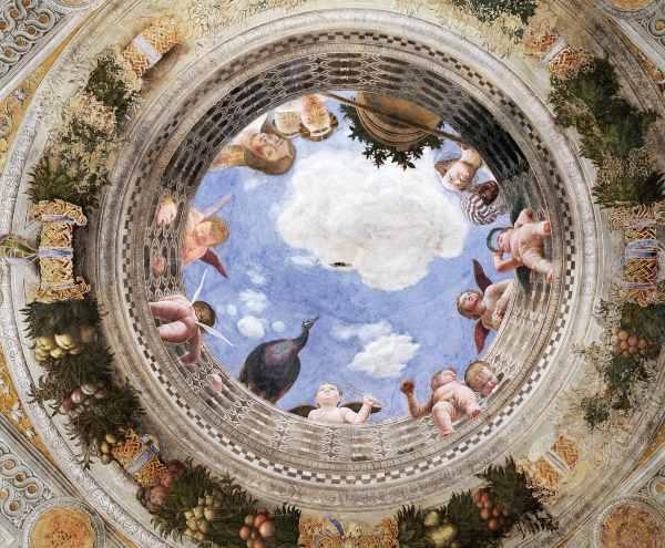 Oculo della Camera Picta Lombardia cosa vedere Mantova