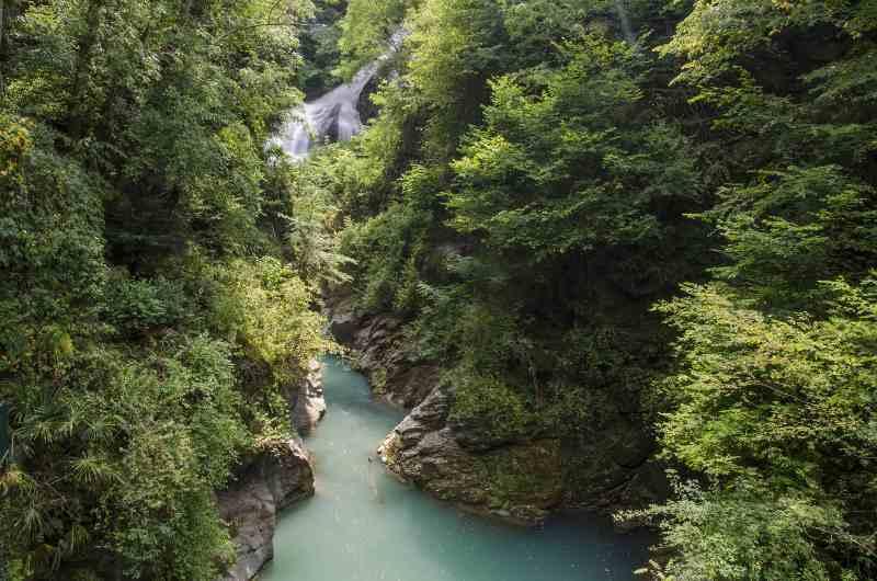 Orrido di Bellano, Lombardia 10 luoghi Italia estero