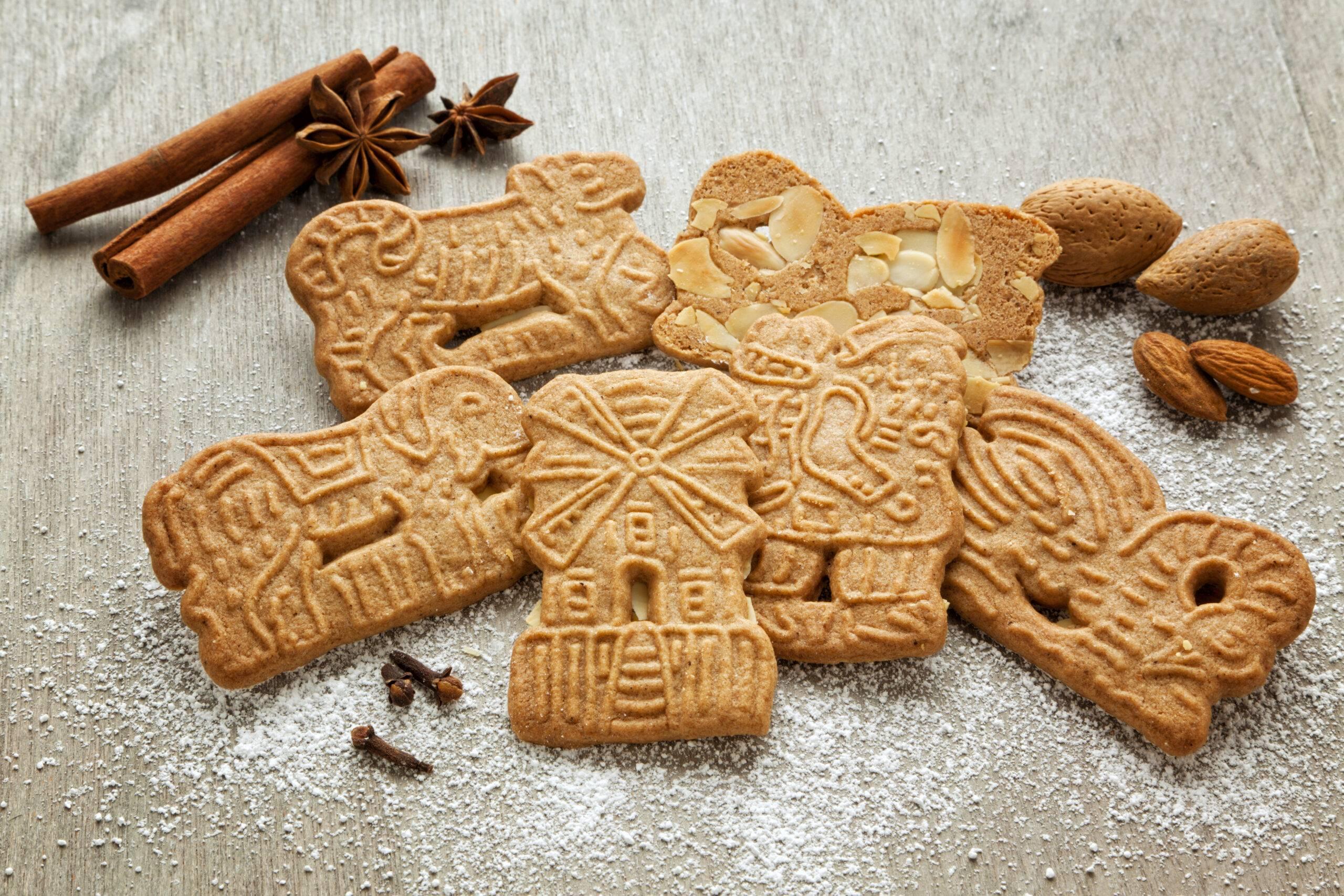 Biscotti Speculoos per Natale