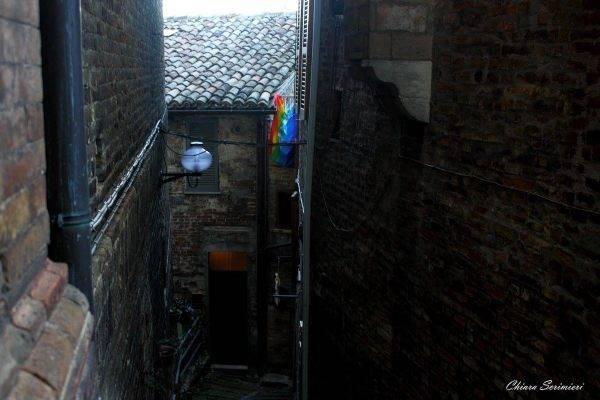 Un incantevole vicolo cieco ad Urbino Marche cosa vedere Urbino weekend